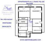 Ampio appartamento con terrazzo in vendita a Falcone in Vendita