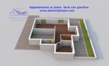 Appartamento con giardino di pertinenza in vendita a Barcellona Pozzo di Gotto in Vendita